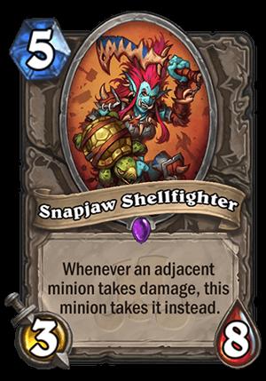 Snapjaw Shellfighter Card