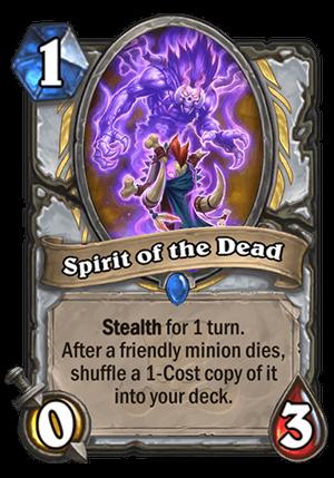 Spirit of the Dead Card