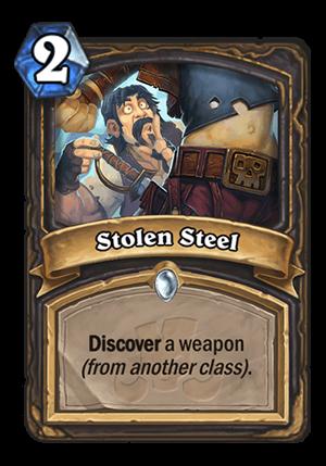 Stolen Steel Card