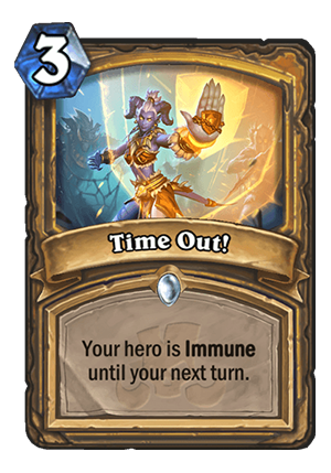 Time Out! Card