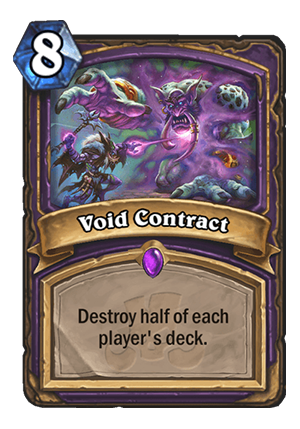 Void Contract Card