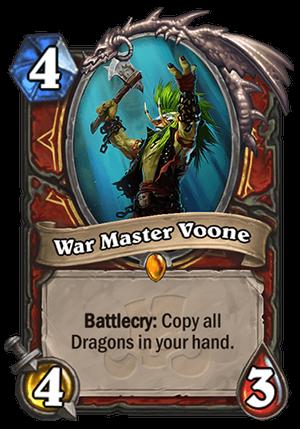 War Master Voone Card
