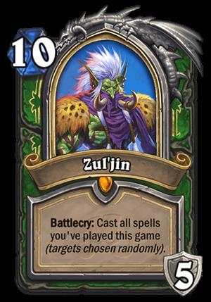Zul'jin Card
