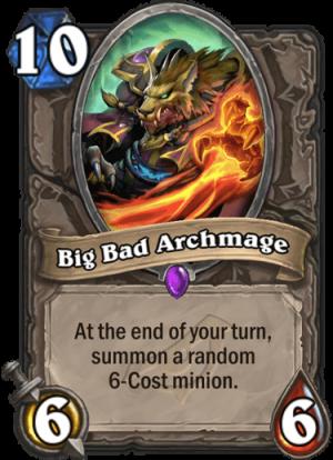 Big Bad Archmage Card