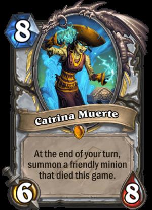 Catrina Muerte Card
