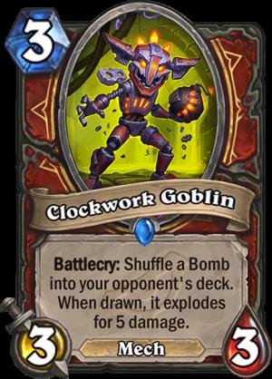 Clockwork Goblin Card