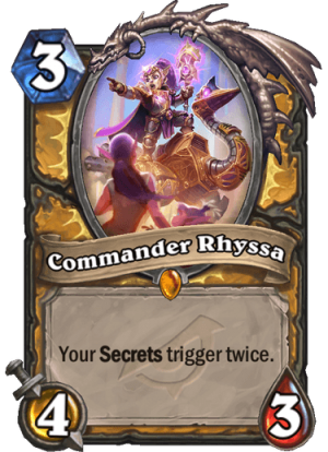 Commander Rhyssa Card