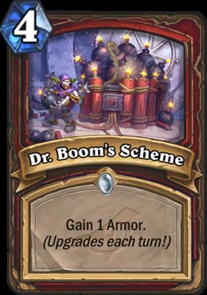 Dr. Boom's Scheme Card
