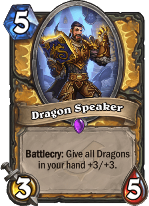 Dragon Speaker Card