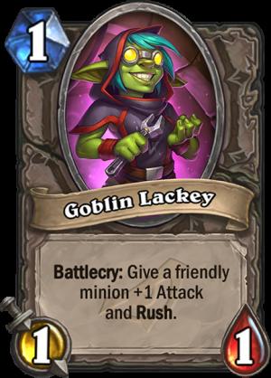 Goblin Lackey Card