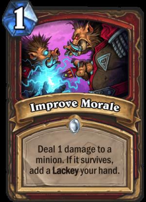 Improve Morale Card