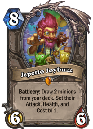 Jepetto Joybuzz Card