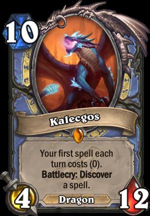Kalecgos Card