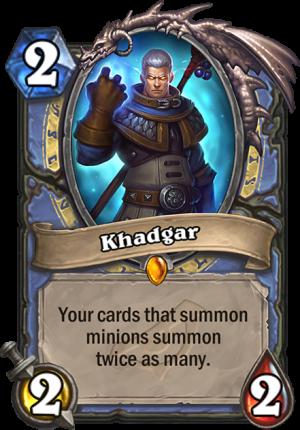 Khadgar Card