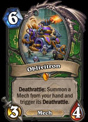 Oblivitron Card