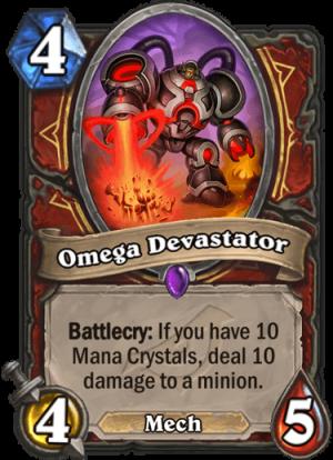 Omega Devastator Card