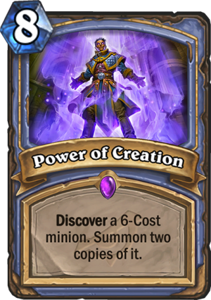 Power of Creation Card