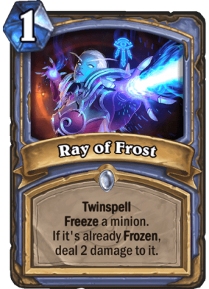 Ray of Frost Card