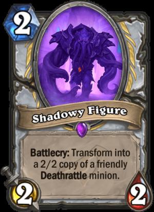 Shadowy Figure Card
