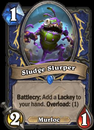 Sludge Slurper Card