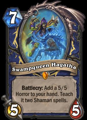 Swampqueen Hagatha Card