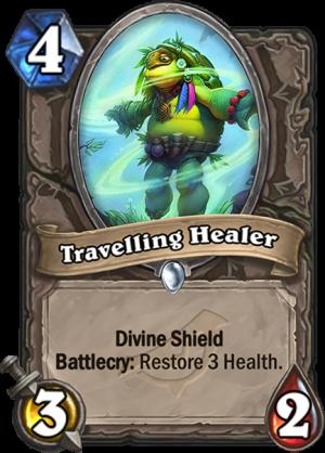 Travelling Healer Card