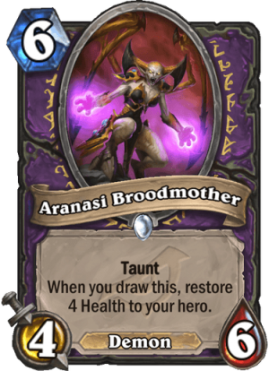 Aranasi Broodmother Card