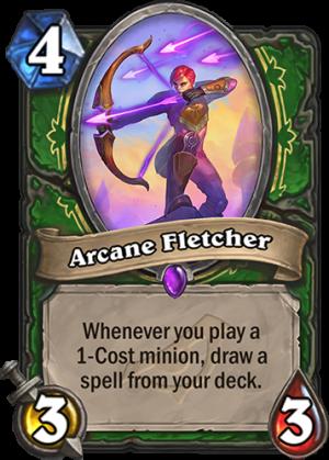 Arcane Fletcher Card