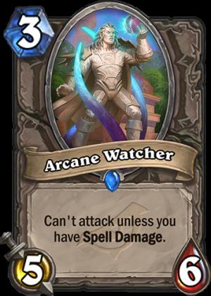 Arcane Watcher Card