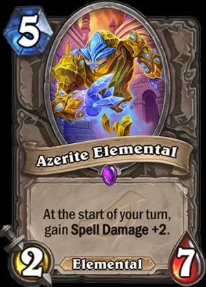 Azerite Elemental Card