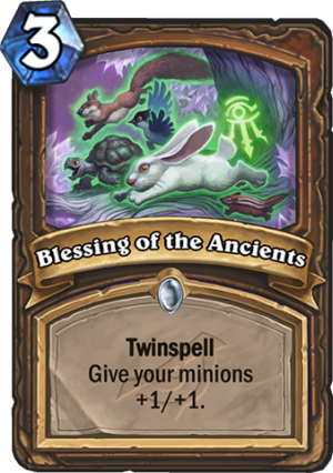 Blessing of the Ancients Card