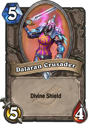 Dalaran Crusader Card