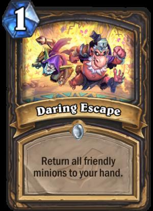 Daring Escape Card