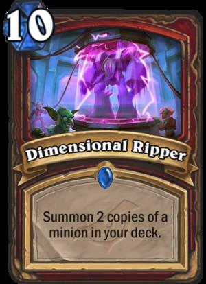 Dimensional Ripper Card