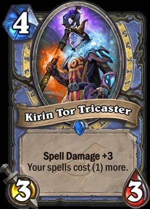 Kirin Tor Tricaster Card