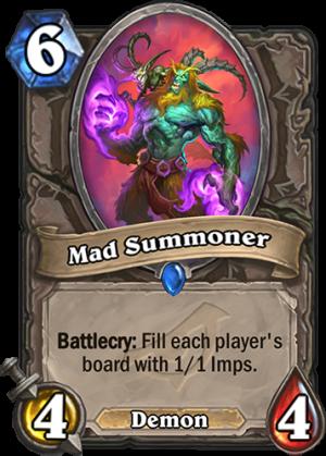 Mad Summoner Card