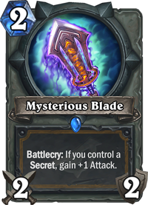 Mysterious Blade Card