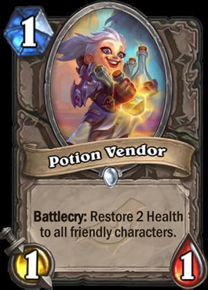 Potion Vendor Card
