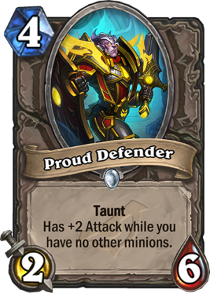 Proud Defender Card