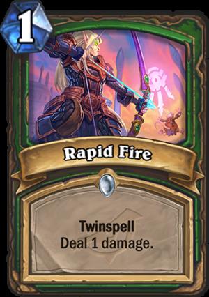 Rapid Fire Card