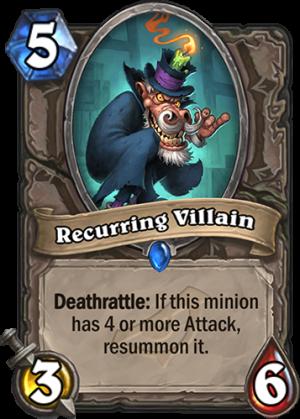 Recurring Villain Card