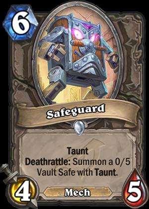 Safeguard Card