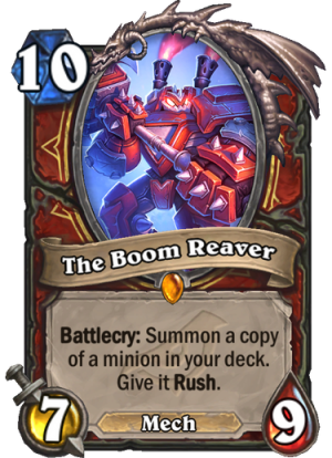 The Boom Reaver Card