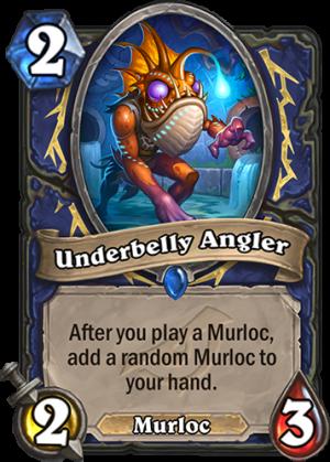 Underbelly Angler Card