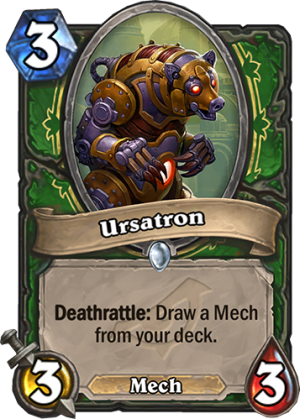 Ursatron Card