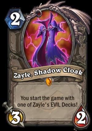 Zayle, Shadow Cloak Card