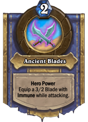 Ancient Blades Card