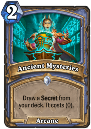 Ancient Mysteries Card