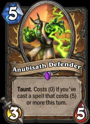 Anubisath Defender Card