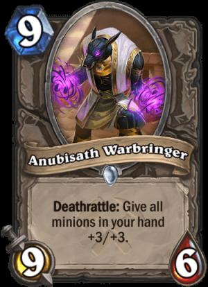 Anubisath Warbringer Card